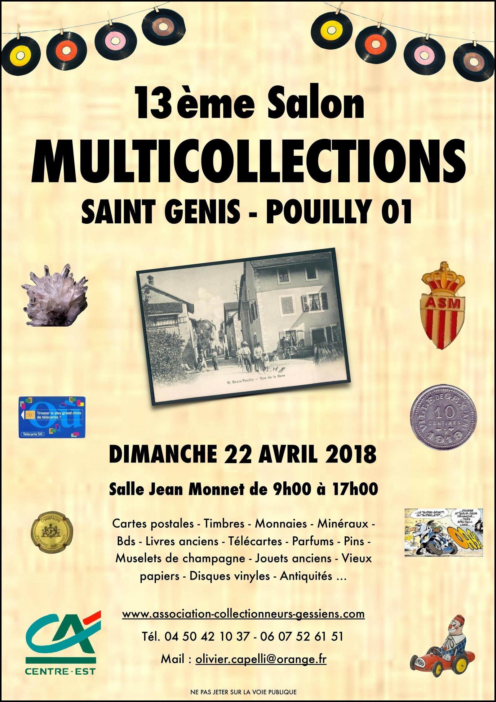 Salon Multicollections St Genis Pouilly 2018